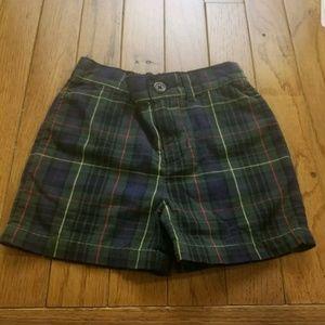 Polo Ralph Lauren Shorts 12 Months Plaid shorts